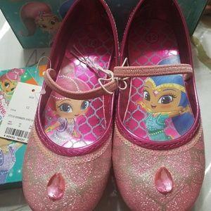 Shimmer shine shoes